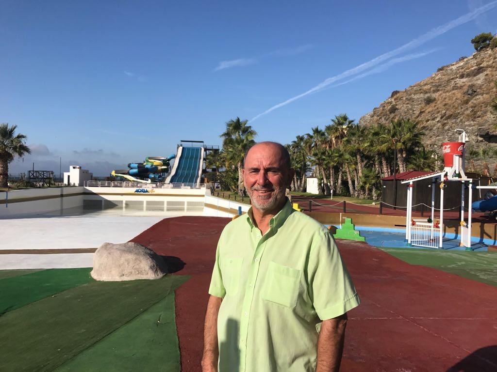 Entretien avec Vicente Barbero, gérant du parc aquatique Aqua Tropic