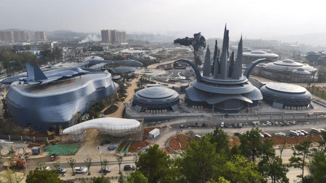 La Chine construit le plus grand parc à thème de science-fiction du monde