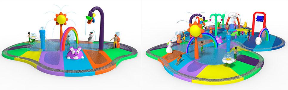 Toon Land, le concept «Plug & Play» des espaces de loisirs aquatiques