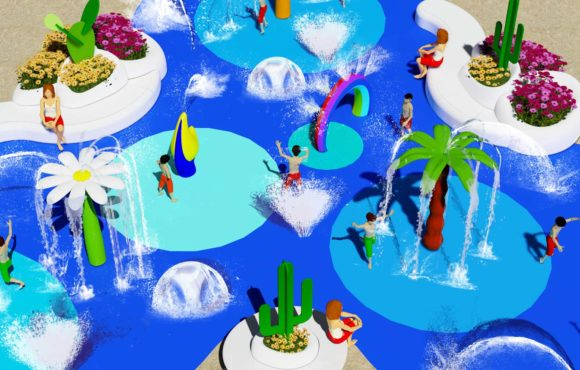 Nouveau projet de Splash Pad à Fuerteventura