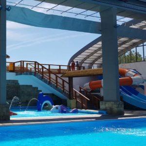 Ouverture du nouveau parc aquatique couvert du Camping Le Farret