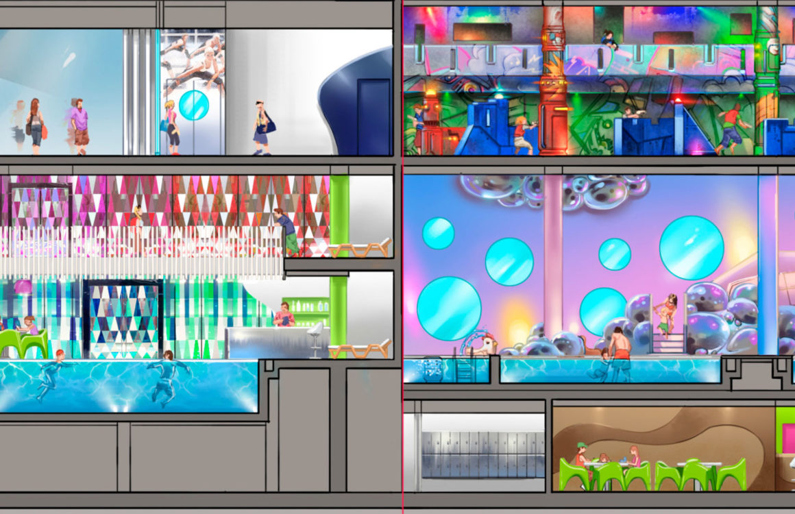 conception centre de loisirs