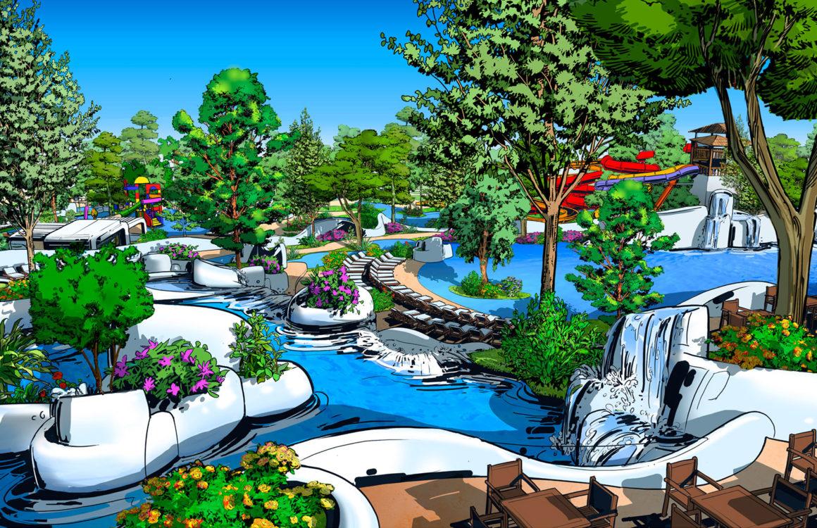 conception parc aquatique