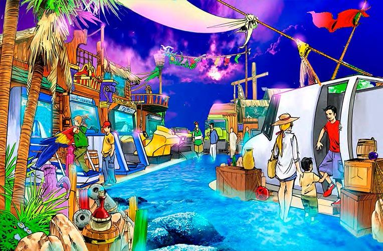 Conception parc d'aventures
