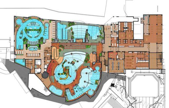 Le projet du premier parc aquatique couvert de la péninsule ibérique avance