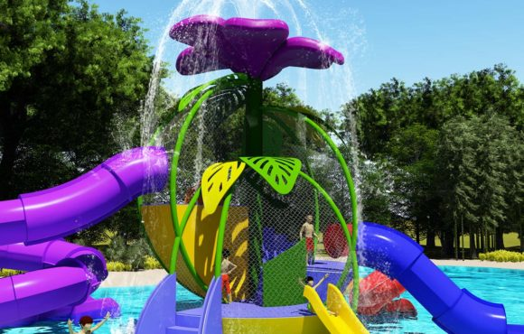Adventure Flower, nouveau parc aquatique interactif