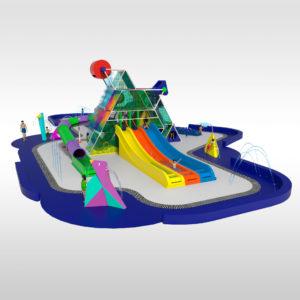 Un nouveau parc aquatique interactif: El Pyramyd
