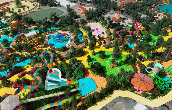 Réaménagement complet du parc aquatique Shankus