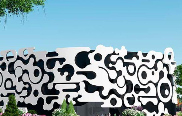 La peau de bâtiment: un exercice d'abstraction lyrique