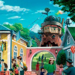 Inauguration du parc thématique Studio Ghibli.
