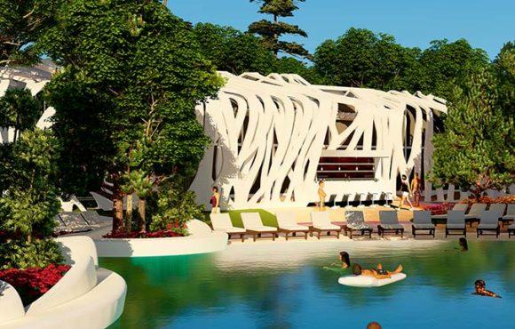 Architecture dans les parcs aquatiques: améliorer l'expérience en limitant les coûts