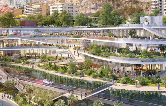 Bienvenue au centre commercial du futur.