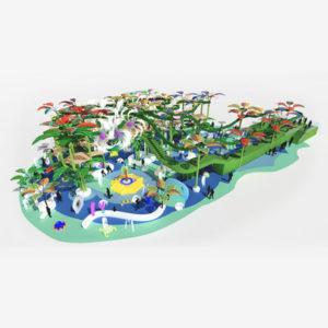 Splash Track: circuit d'aventure aquatique.
