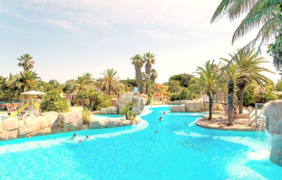 La Sirène, le plus beau parc aquatique des campings français.