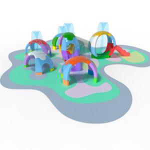 Sphèrium, des jeux nouveaux pour les SplashPad