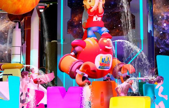 KidzMondo Splash Pad pour l'intérieur