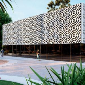 Modèles modulaires tournants sur les façades
