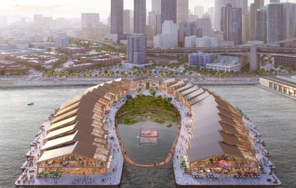 Un écoparc flottant à San Francisco