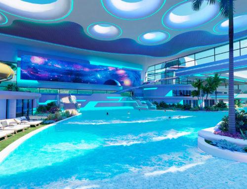 Parc aquatique et complexe thermal pour un centre commercial, Russie