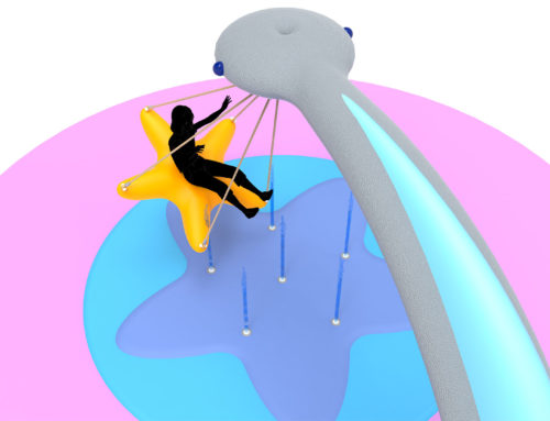 Splash Swing : se balancer sur l'eau