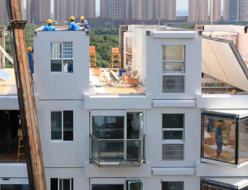 10 étages x un jour, Living Building (+VIDEO)